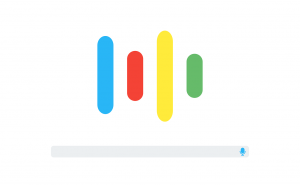voice search Google sound bar