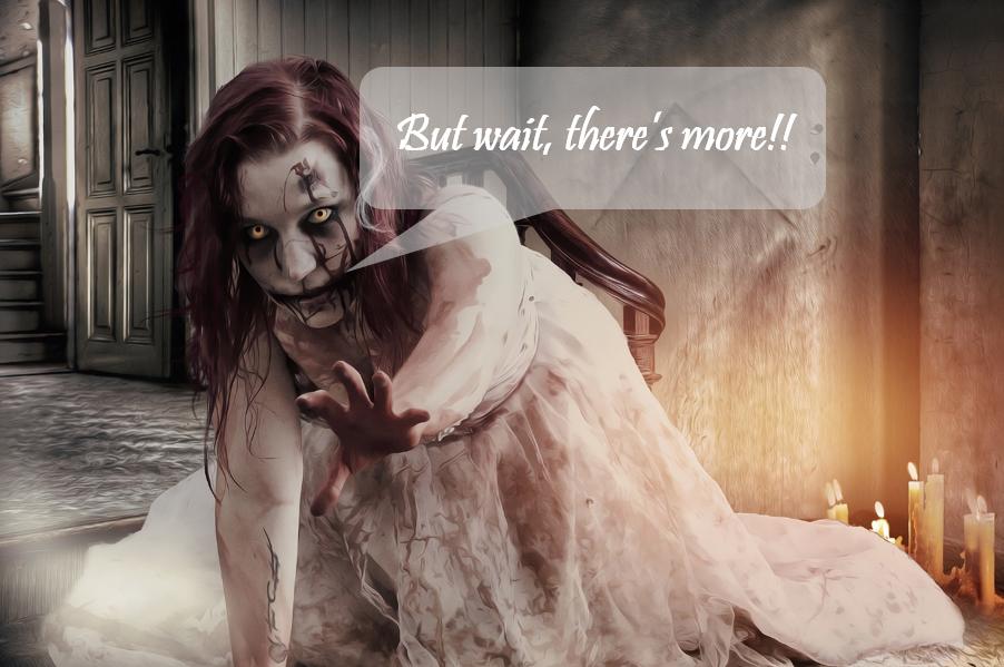 Halloween Ad Horror Puns are Baaaaaack…